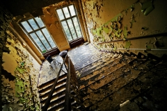 old stairwell